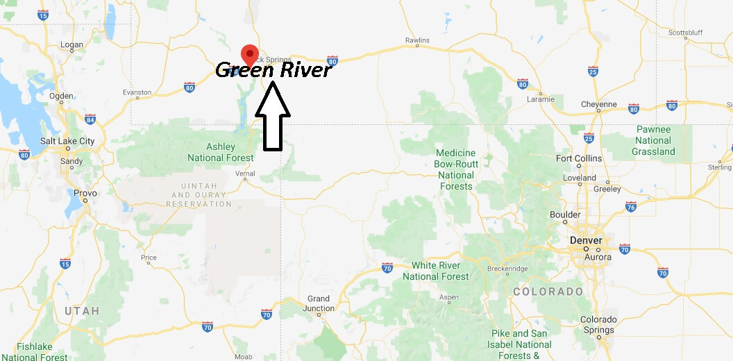 Where is Green River, Wyoming? What county is Green River Wyoming in