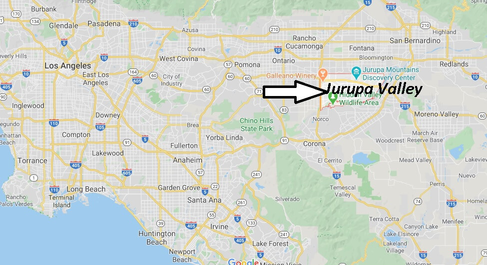 Where is Jurupa Valley California? What county is Jurupa Valley CA in