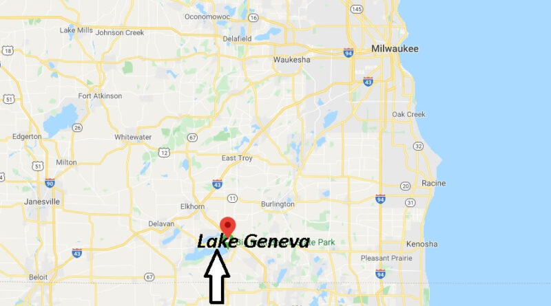 Where is Lake Geneva, Wisconsin? What county is Lake Geneva Wisconsin in