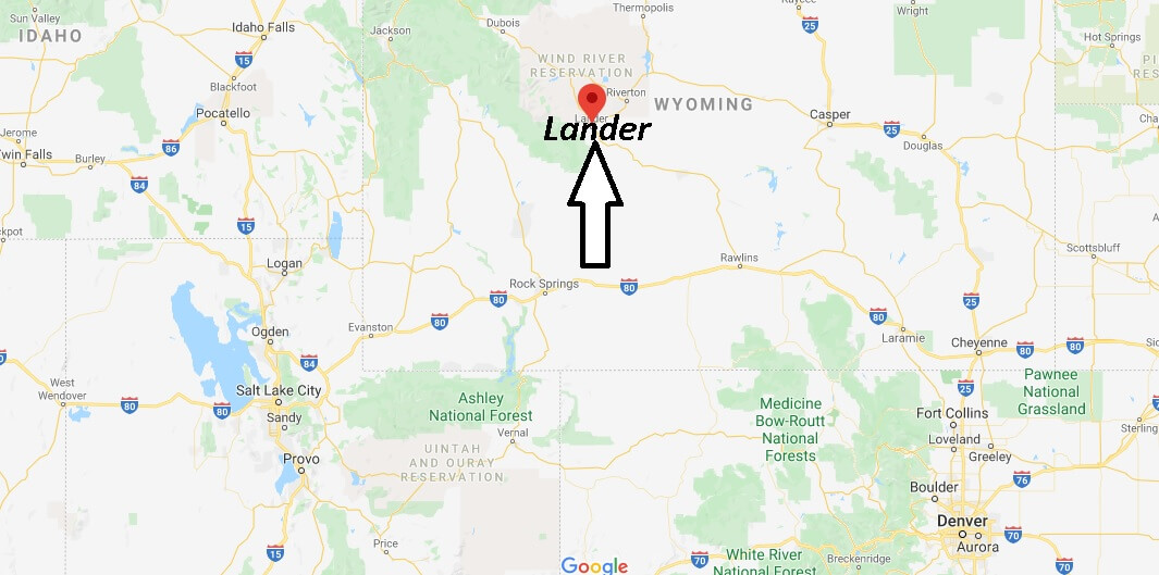Where is Lander, Wyoming? What county is Lander Wyoming in