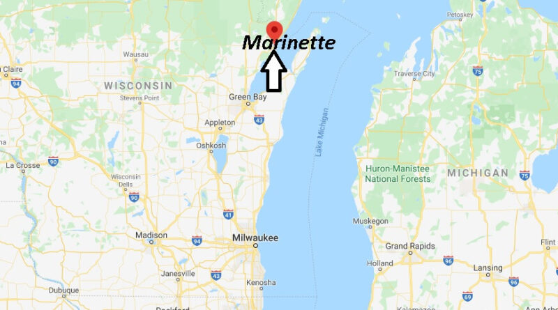 Where is Marinette, Wisconsin? What county is Marinette Wisconsin in
