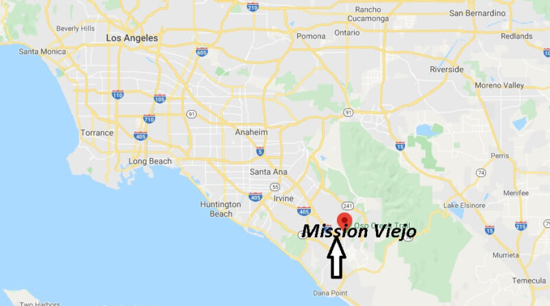 Where is Mission Viejo California? What county is Mission Viejo CA in