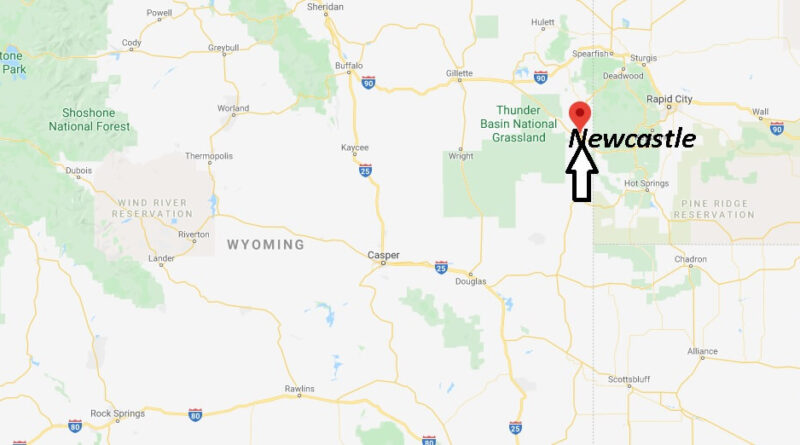 Where is Newcastle, Wyoming? What county is Newcastle Wyoming in
