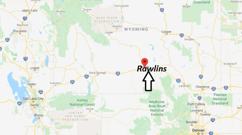 Where is Rawlins, Wyoming? What county is Rawlins Wyoming in