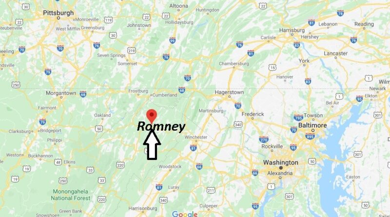 Where is Romney, West Virginia? What county is Romney West Virginia in