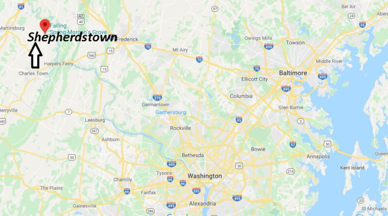 Where is Shepherdstown, West Virginia? What county is Shepherdstown West Virginia in