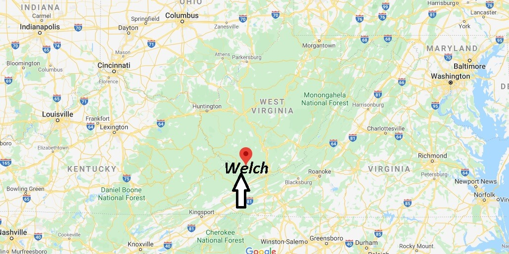 Where is Welch, West Virginia? What county is Welch West Virginia in