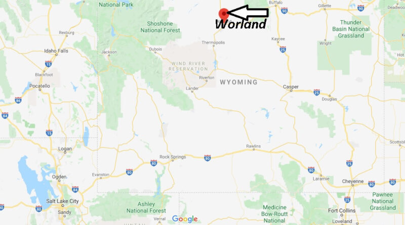 Where is Worland, Wyoming? What county is Worland Wyoming in
