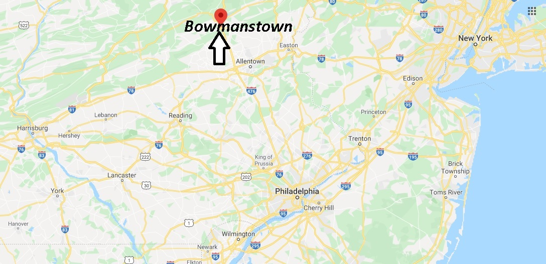 Where is Bowmanstown Pennsylvania? Where is zip code 18030