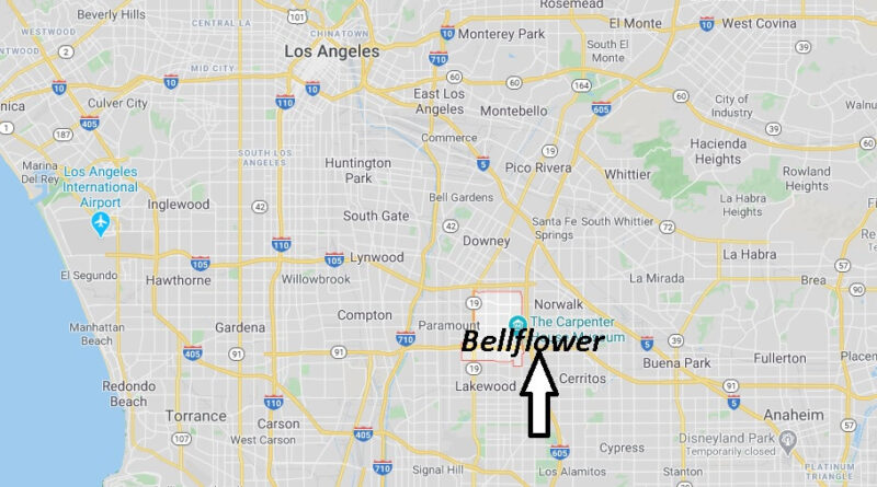 Where is Bellflower California? What County is Bellflower in