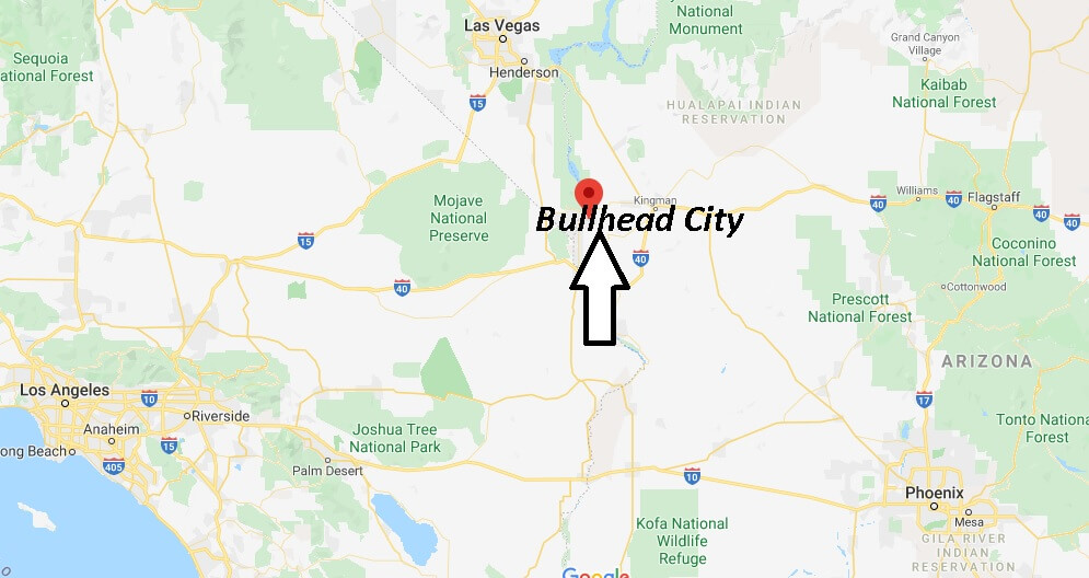 Where is Bullhead City Arizona? What County is Bullhead City in