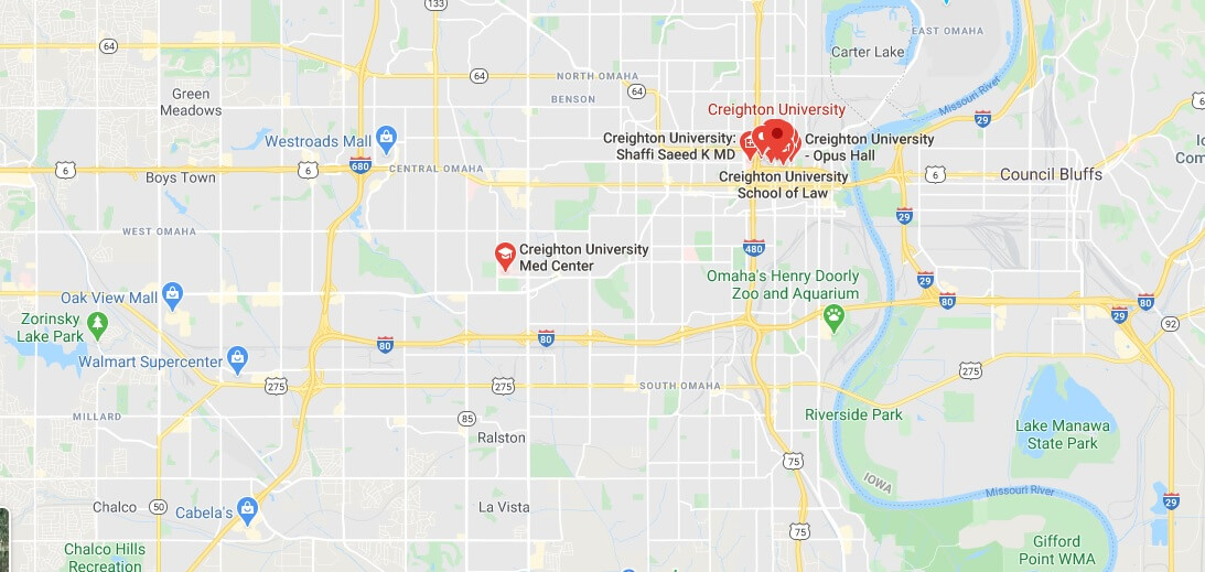 Where is Creighton University Located? What City is Creighton University in