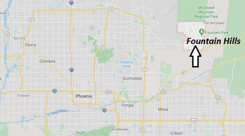 Where is Fountain Hills Arizona? What County is Fountain Hills in
