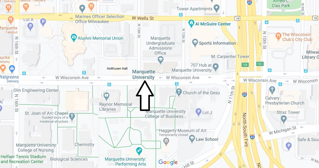 Where is Marquette University Located? What City is Marquette University in