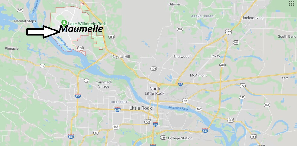 Where is Maumelle Arkansas? What County is Maumelle in
