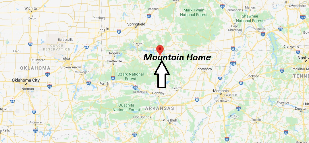 Where is Mountain Home Arkansas? What County is Mountain Home in