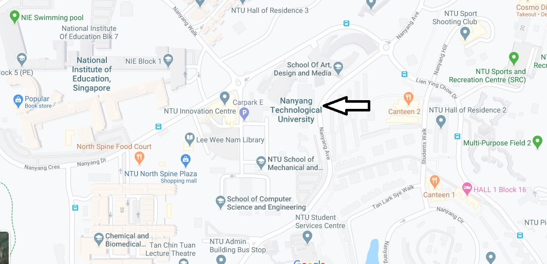 Where is Nanyang Technological University Located? What City is Nanyang Technological University in
