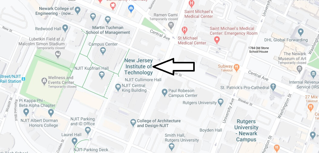 Where is New Jersey Institute of Technology Located? What City is New Jersey Institute of Technology in