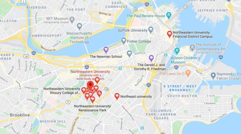 Where is Northeastern University Located? What City is Northeastern University in