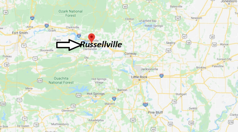 Where is Russellville Arkansas? What County is Russellville in