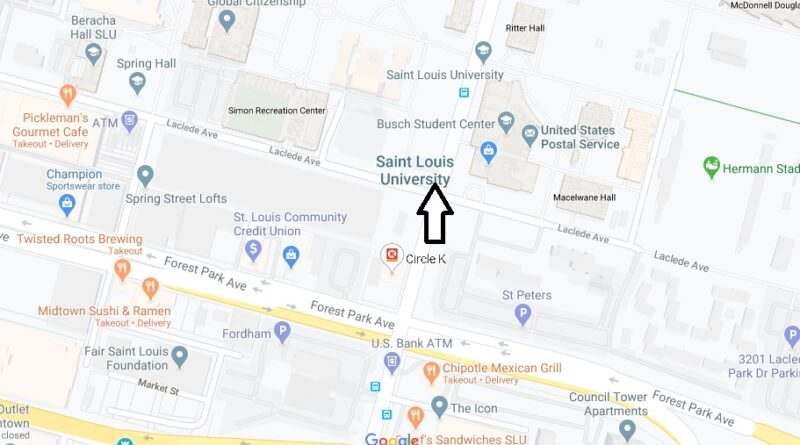 Where is Saint Louis University Located? What City is Saint Louis University in