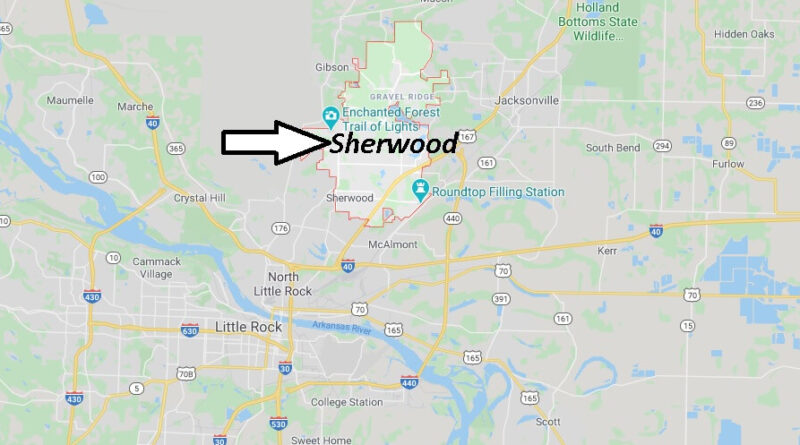 Where is Sherwood Arkansas? What County is Sherwood in