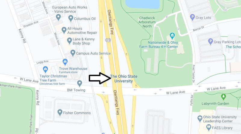 Where is The Ohio State University Located? What City is The Ohio State University in