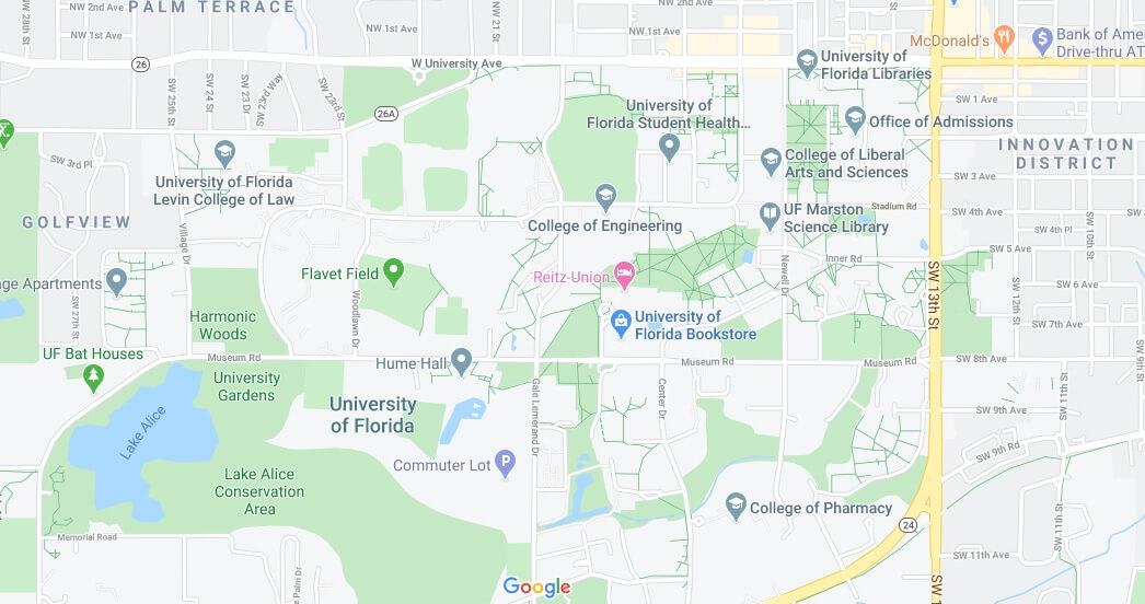 Where is University of Florida Located? What City is University of Florida in
