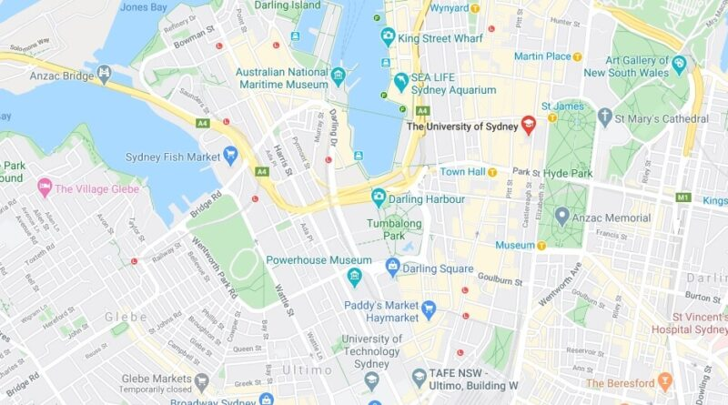 Where is University of Sydney Located? What City is University of Sydney in