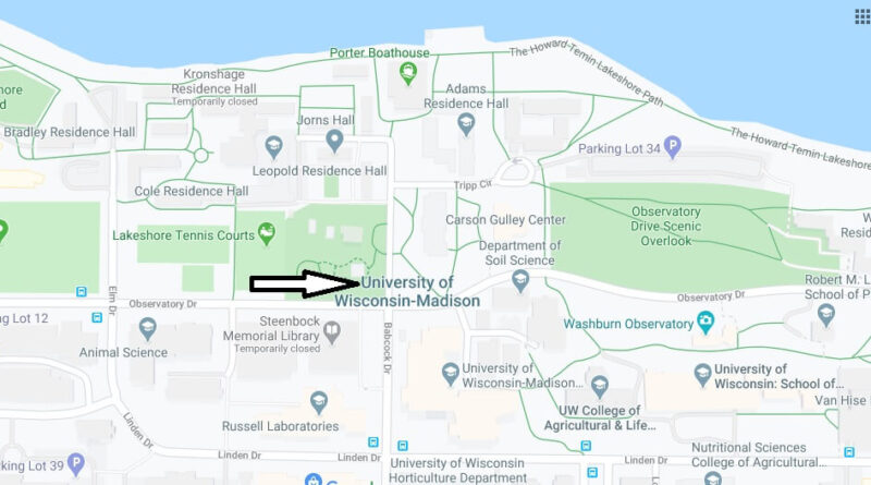 Where is University of Wisconsin-Madison Located? What City is University of Wisconsin-Madison in