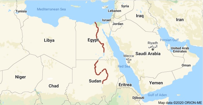 Where is nile river located? What country is the Nile River in