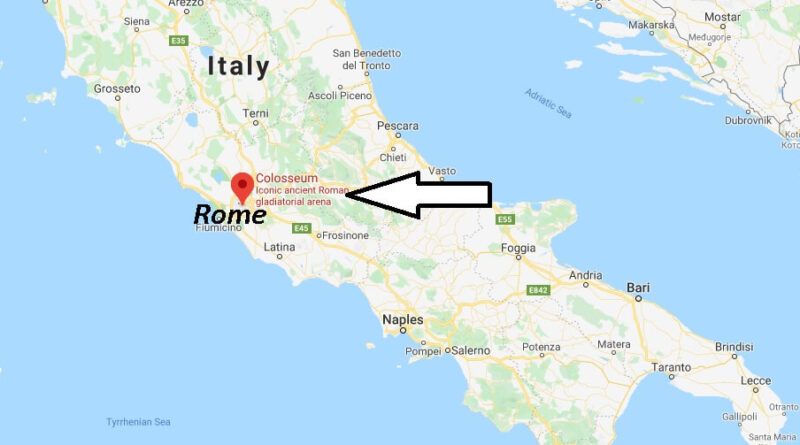 Where is the colosseum? Where exactly is the Colosseum located