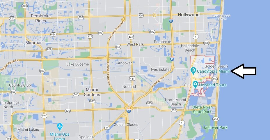 How far is Aventura Florida from Miami