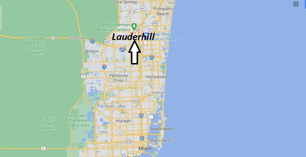 Is Lauderhill FL a bad area