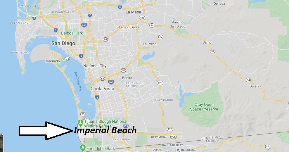 What county is Imperial Beach CA in