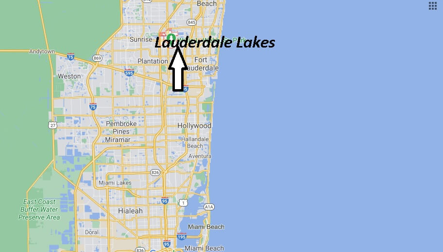 What county is Lauderdale Lakes Florida in