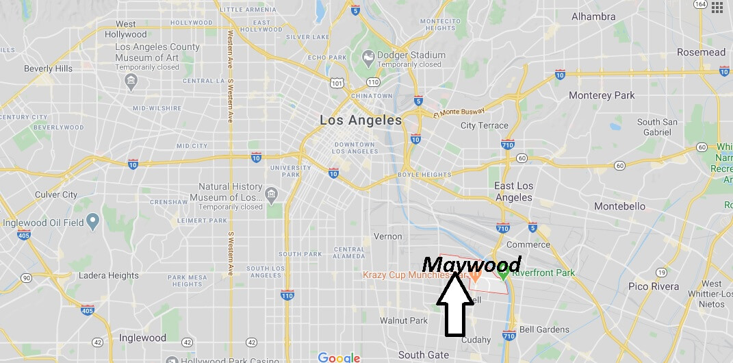 What county is Maywood CA in