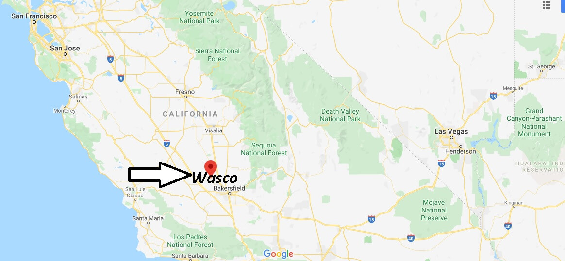 What county is Wasco CA in