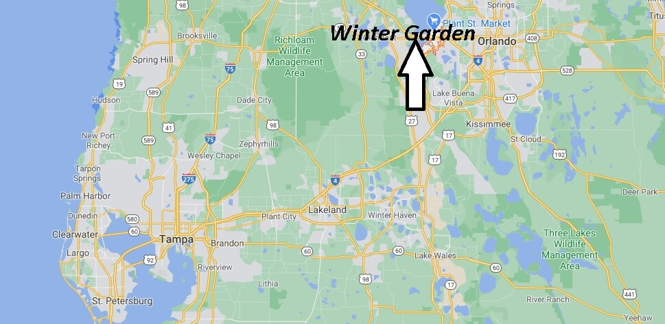 What county is Winter Garden Florida in