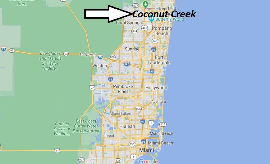 Where in Florida is Coconut Creek