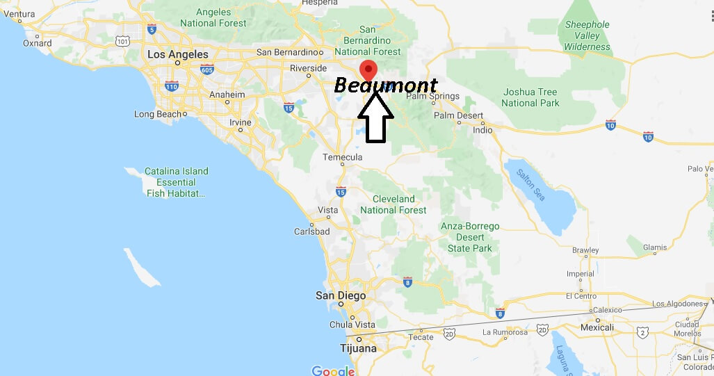 Where is Beaumont California? What County is Beaumont in