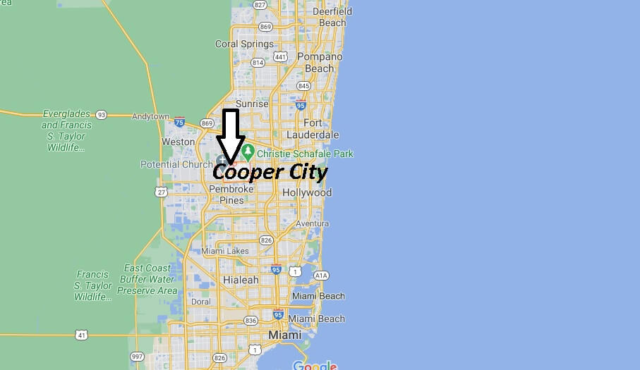 Where is Cooper City Located
