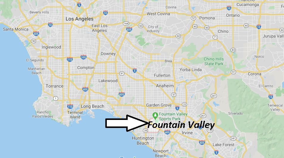 Where is Fountain Valley California? What County is Fountain Valley in