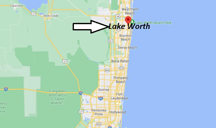 Where is Lake Worth Located