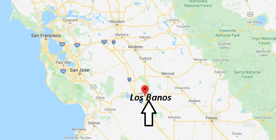 Where is Los Banos California? What County is Los Banos in