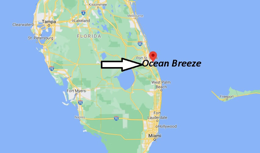 Where is Ocean Breeze Located