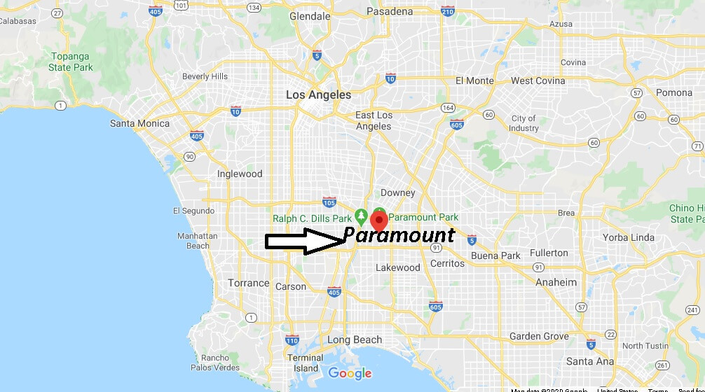 Where is Paramount California? What County is Paramount in