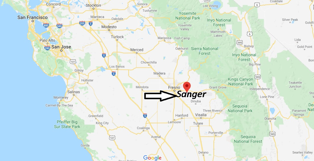 Where is Sanger Located