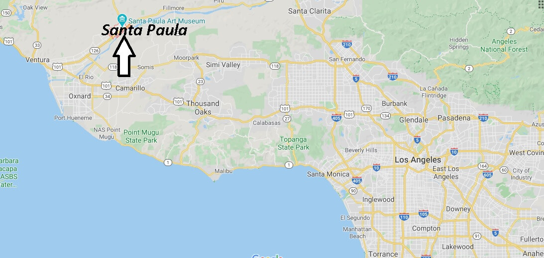 Where is Santa Paula California? What County is Santa Paula in
