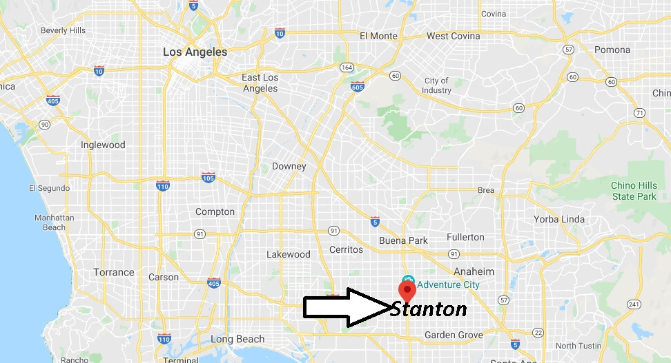 Where is Stanton California? What County is Stanton in